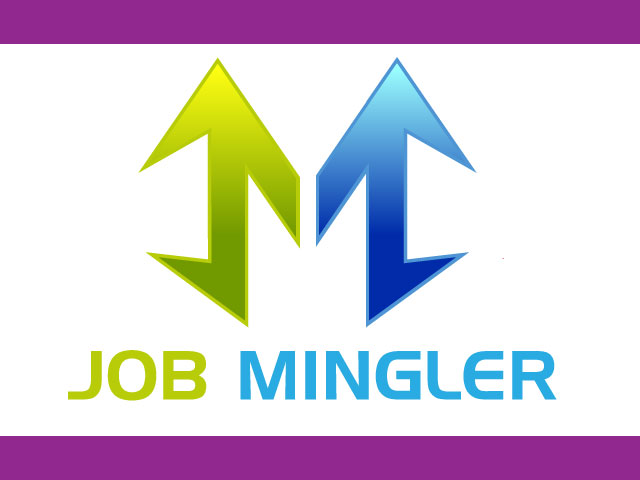 Job Mingler Log Company Logo Design