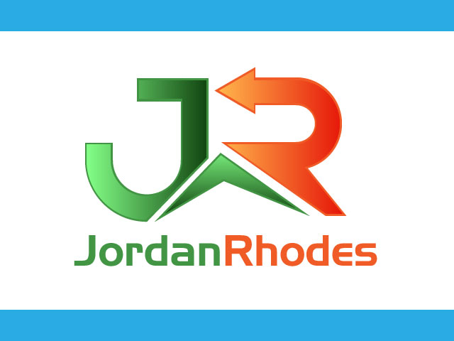 Letter R logo design vector free