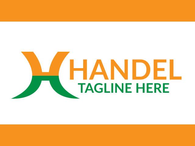Letter H Free Logo Design