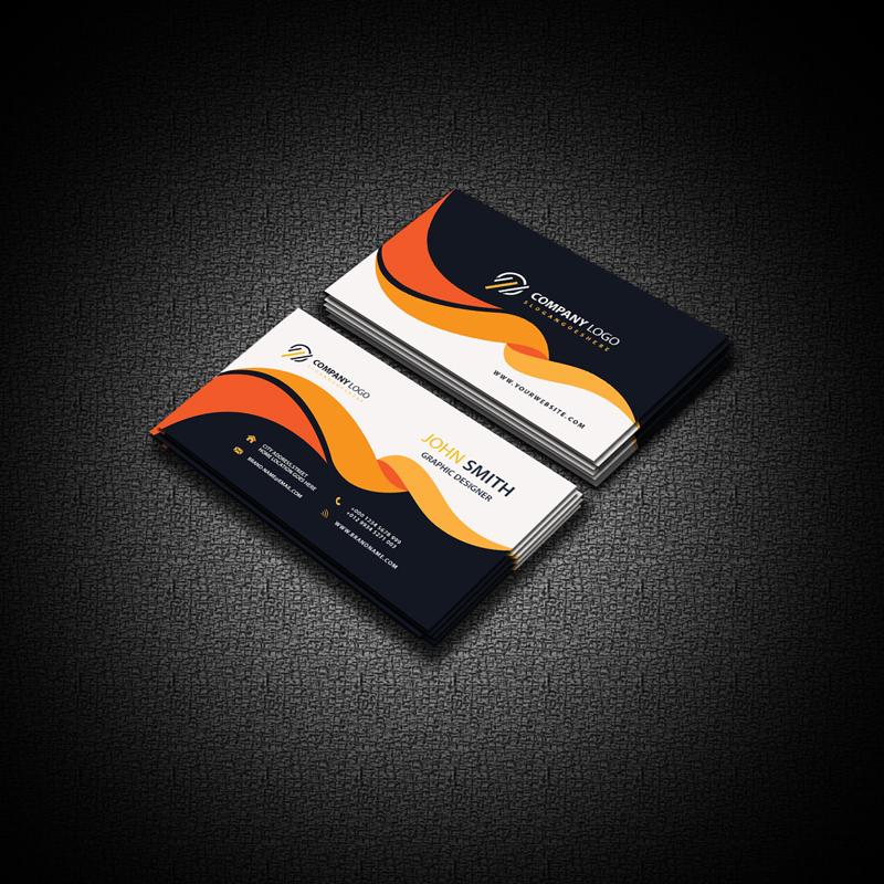 Professional Business Card Mockup Free