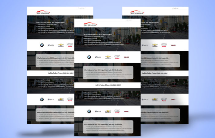 Website Design For Bdcdealership