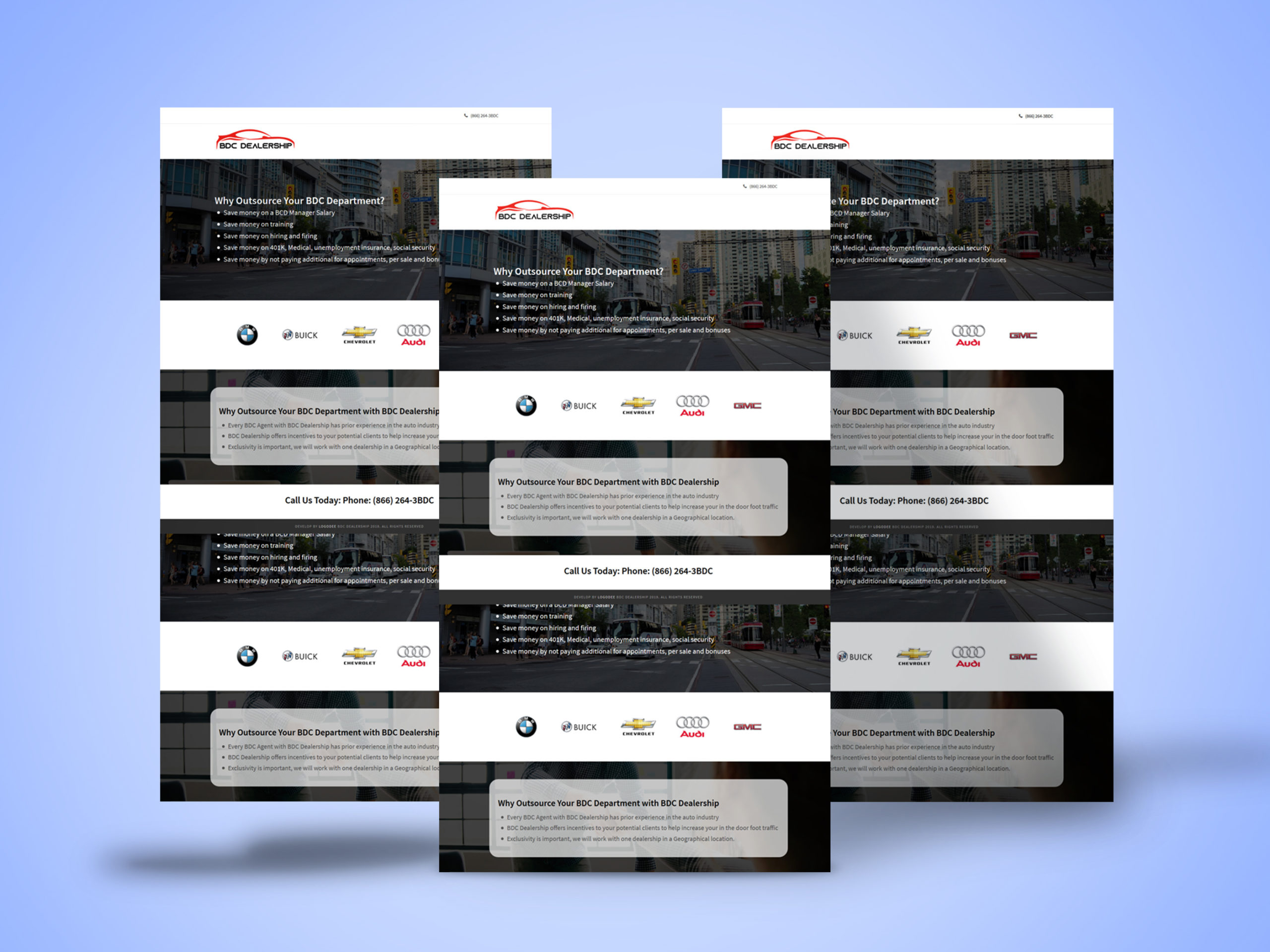 Website Design For Bdcdealership