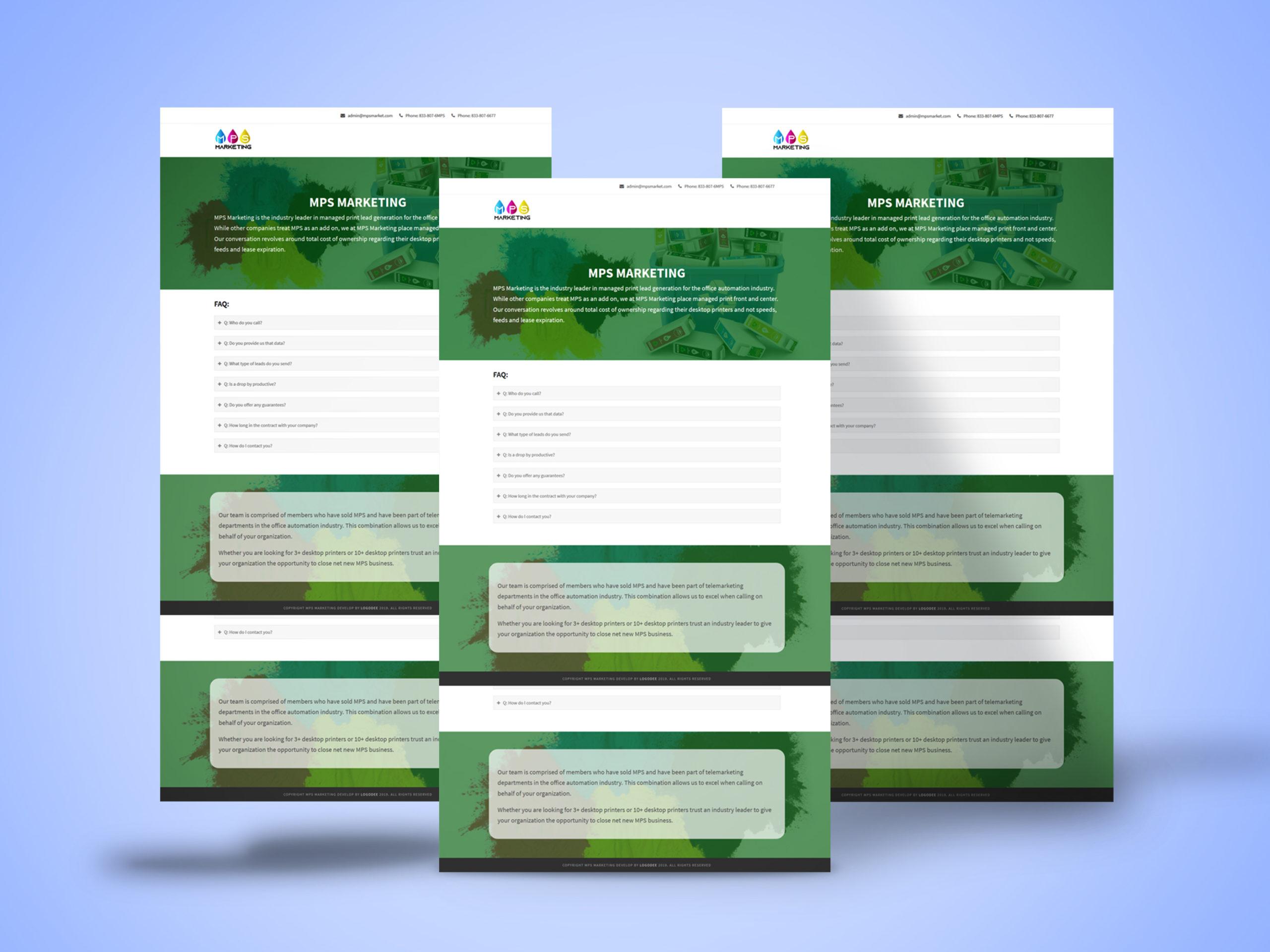 Mpsmarket-web-design-project