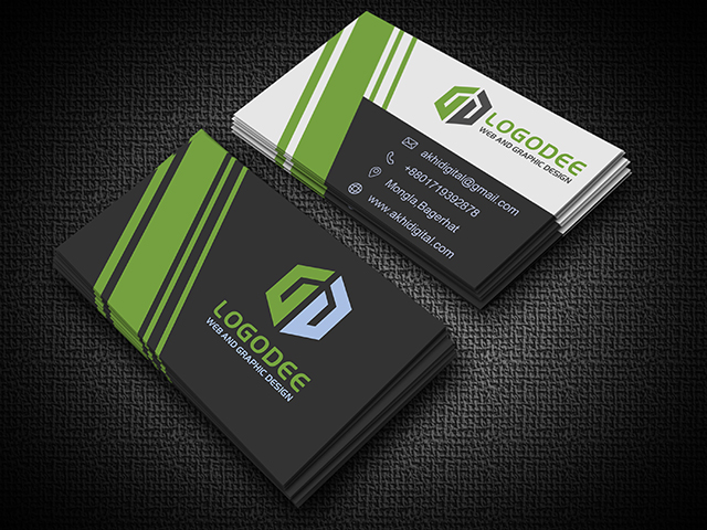Business Card Mockup Bundle Premium Psd