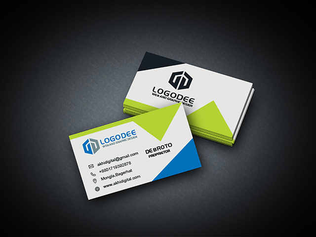 Business Mockup Premium PSD Visiting Card Modern
