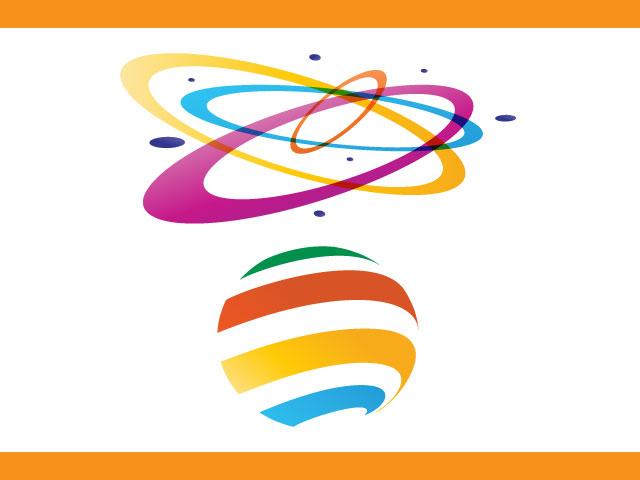 Free Logo Design Movie Globe Icon