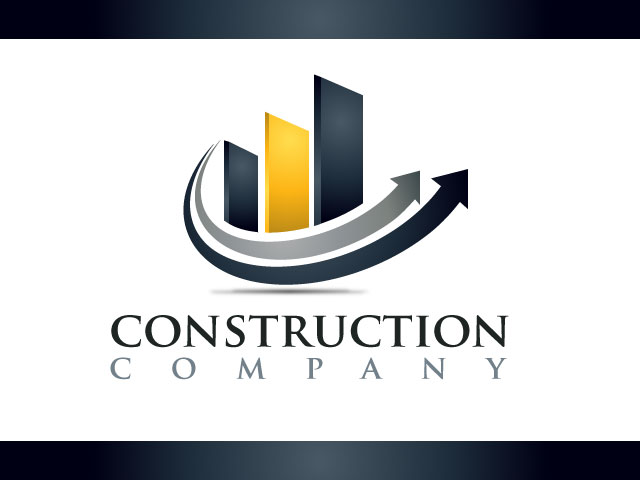 Construction Business Logo Real Estate