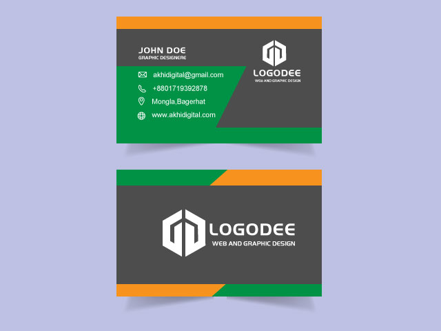 Modern High Quality Business Card Free Download