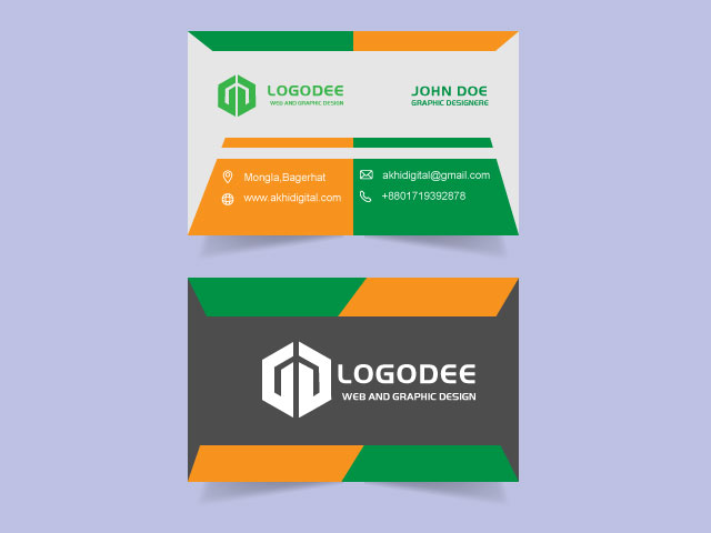 Free Modern Business Card Download