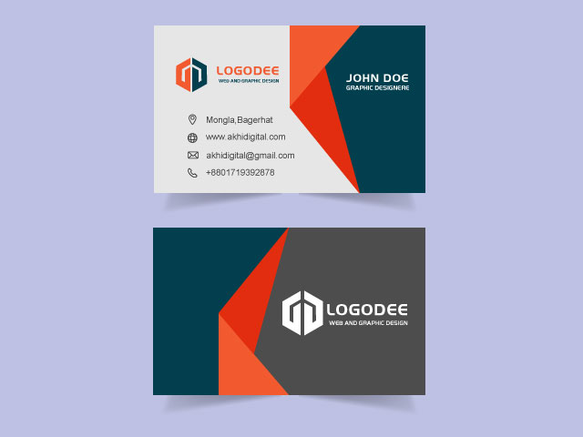 Visiting Card Free Download Vector