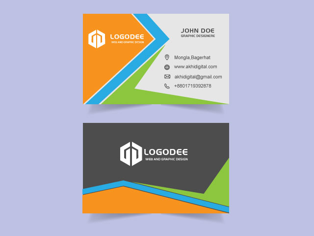 Custom Business Card Free Download
