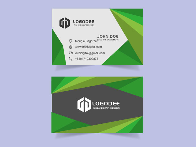 Professional Visiting Card Download Today