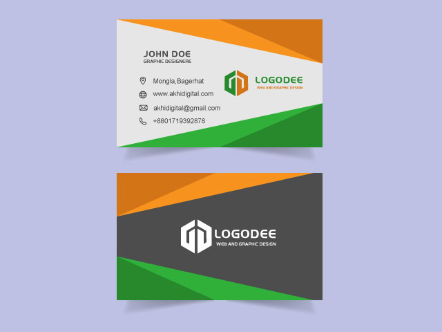 Quality And Modern Business Card Free Download