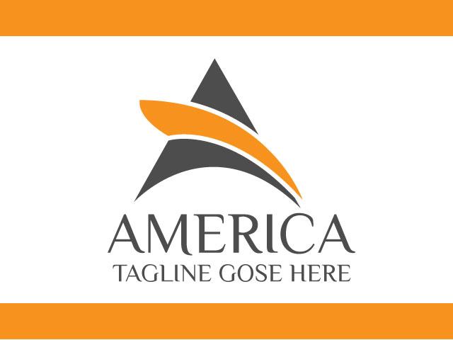 Corporate Letter A Logo Design Free