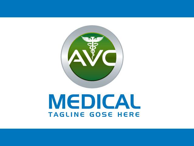 Modern Medical Logo Free Download