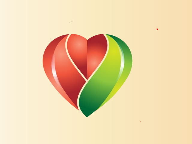 Heart Specialists Medical 3d Logo