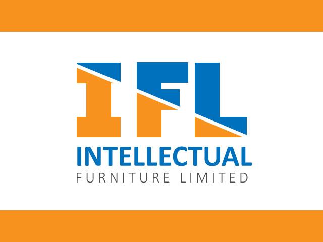 Letter IFL Logo Design Vector