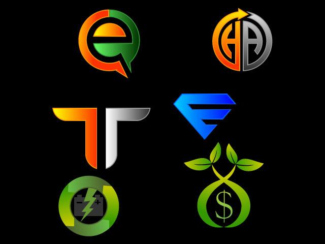Letter E And Letter T Letter Multiple Letter Logo Design