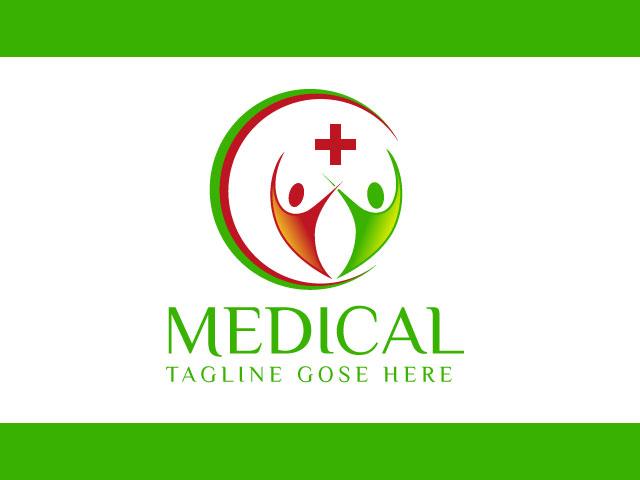 Unique Medical Company Logo Design Free