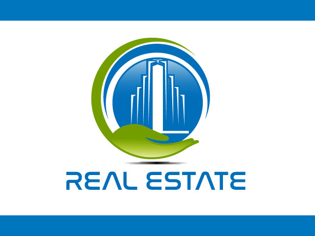 Commercial real estate company logo design