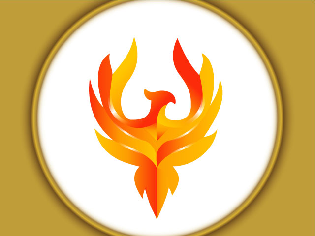 Powerful Eagle 3d Logo Design Vector