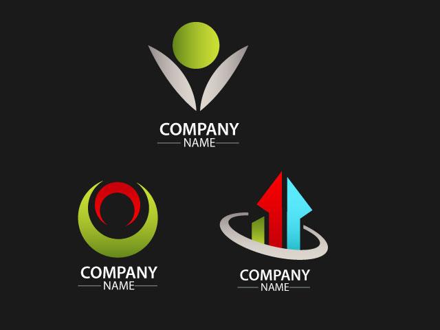 Letter V Business Management Company Logo Design