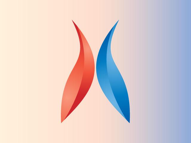 Letter A Logo Design 3d Vector