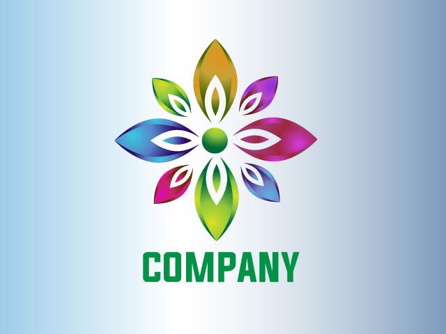 Flower Garden Business Logo Design