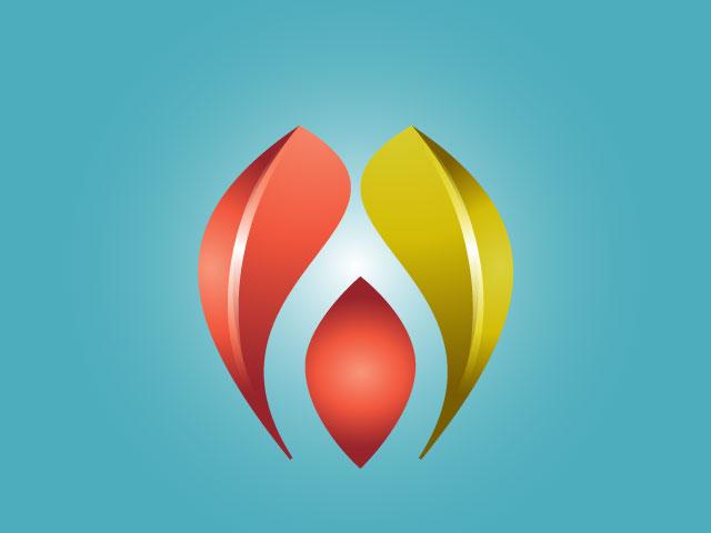 Online IT Company Logo Design Vector