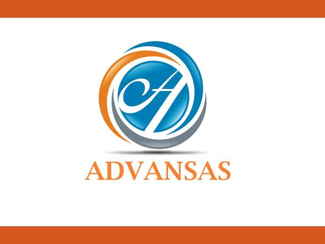 Minimal Letter A logo design free download