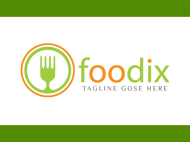 Online Food Business Logo Design Free