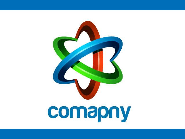 3D Logo Design For Technology Business Management