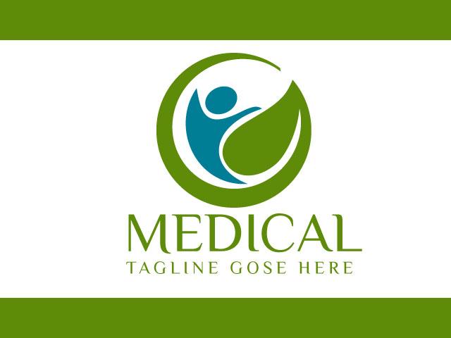 Health Company Logo Design Free Vector