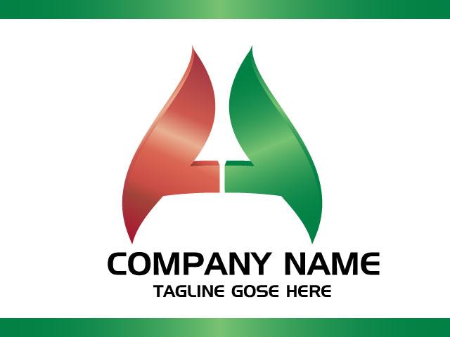 Letter A Minimal Logo Design