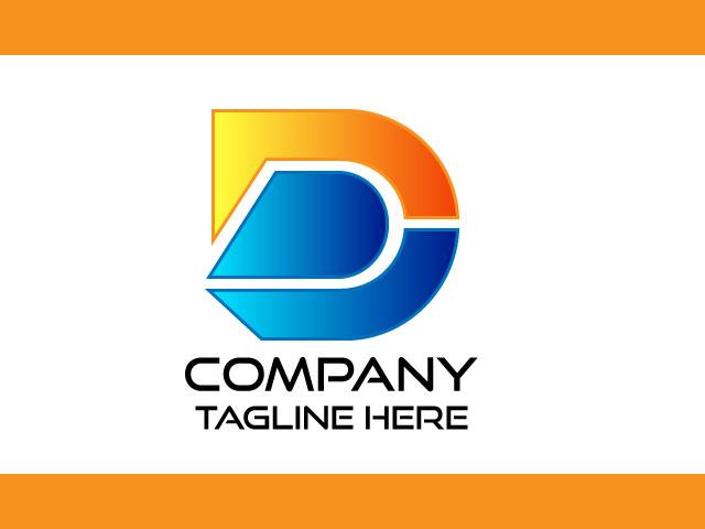New Look Unique Modern Letter D Logo Design