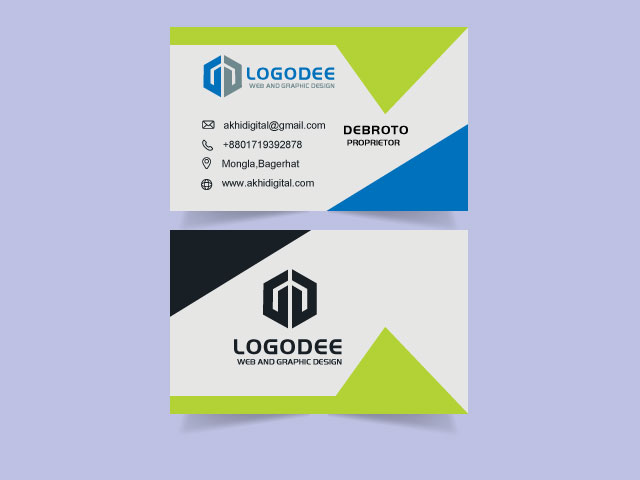 Business Card Download Free Vector