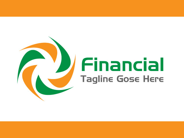 Financial Management Logo Design Vector
