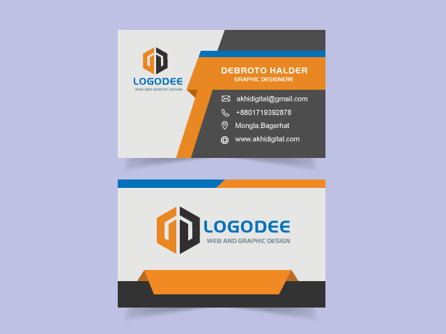 Creative Modern Business Card Free Download