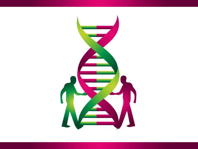 DNA Protection Medical Business Logo Design