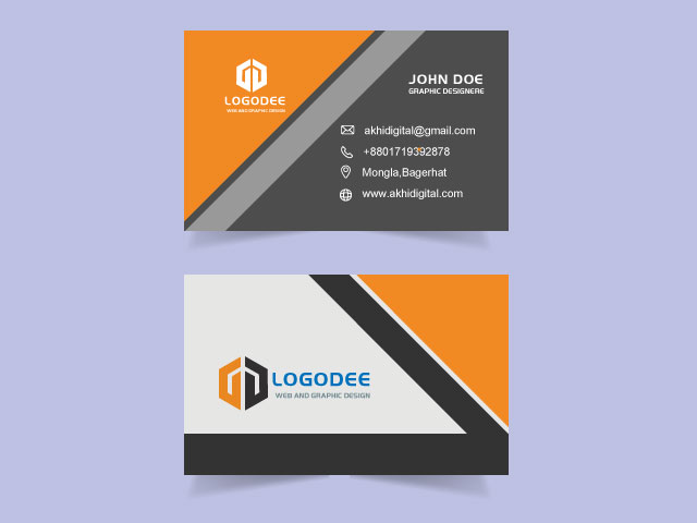 Digital Business Card Free Download