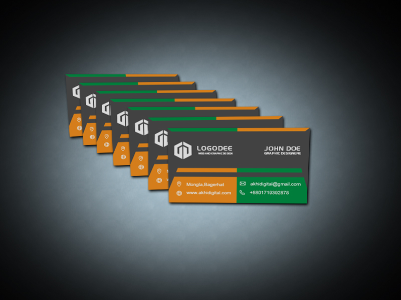 Modern Business Card Mockup Pack