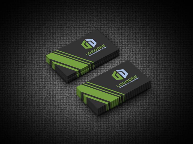Modern Business Card Mockup Pack Download