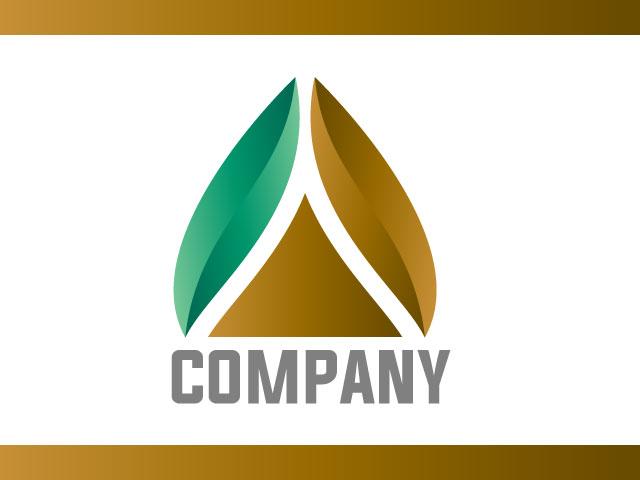 Letter A 3d Logo Design Vector