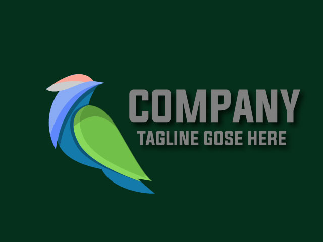 3d Bird Logo Design Free Download