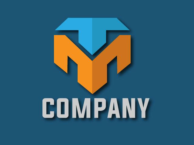 Initial Letter M Logo Design Vector Free Download