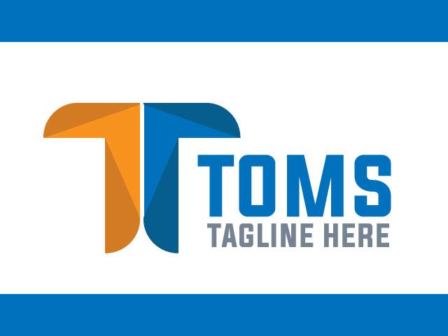 Modern Letter T Logo Design Idea For Free Download