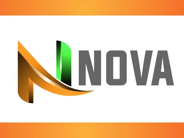Letter N 3d Vector Logo Design Idea