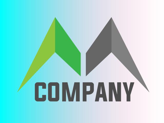 Modern Letter M Logo Design