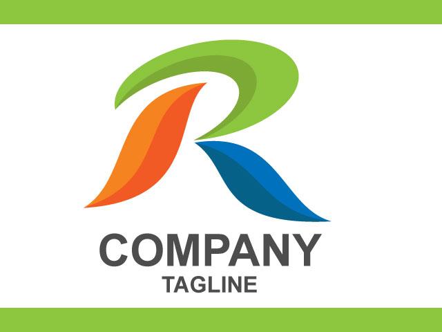 Modern 3d Letter R Logo Design Free Download