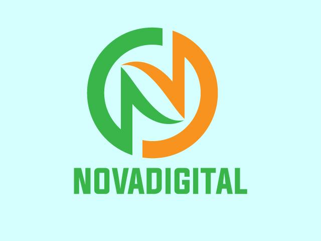 Letter N Minimal Business Logo Design